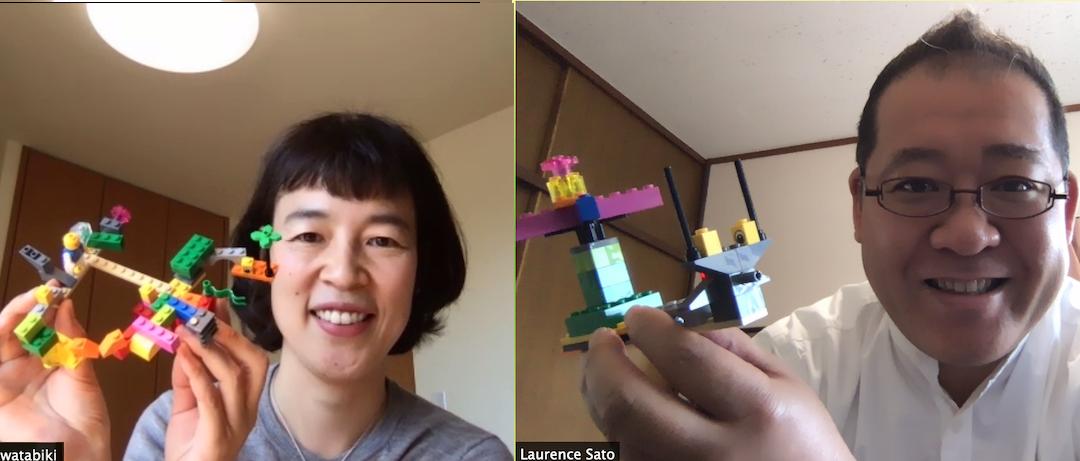 Izumi Watabiki & Laurence Sato from JAPAN